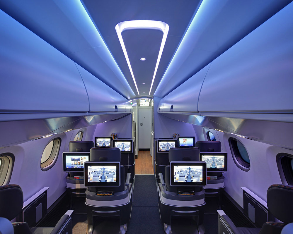 Embraer E2 Airliner Cabin