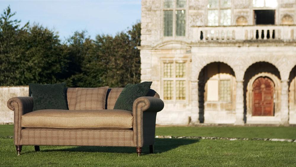 Sofa for Teasel England, Gloucestershire, UK