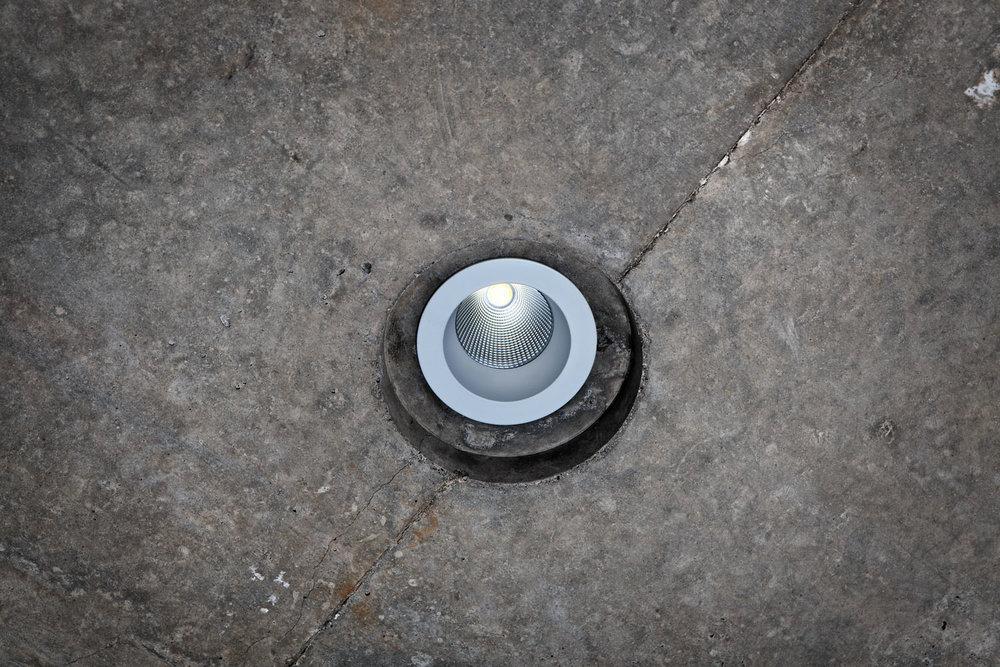 LED lamp product shot