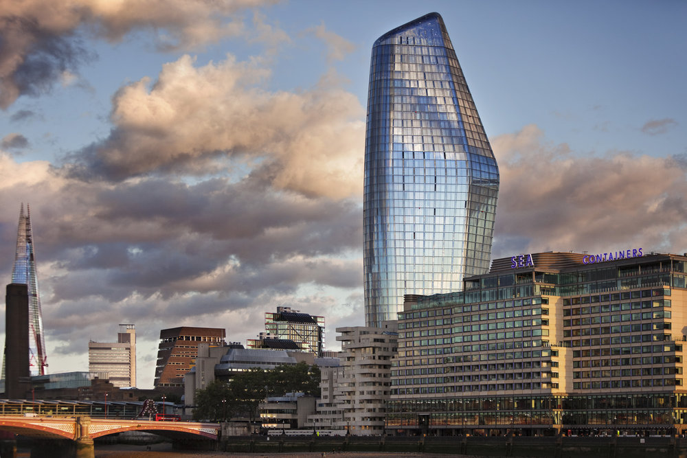 SimpsonHaugh and Partners' One Blackfriars, Southwark, London, UK