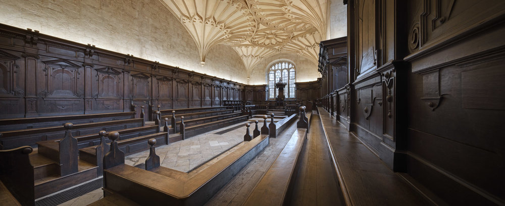 Convocation House, Bodleian Library, Oxford, UK