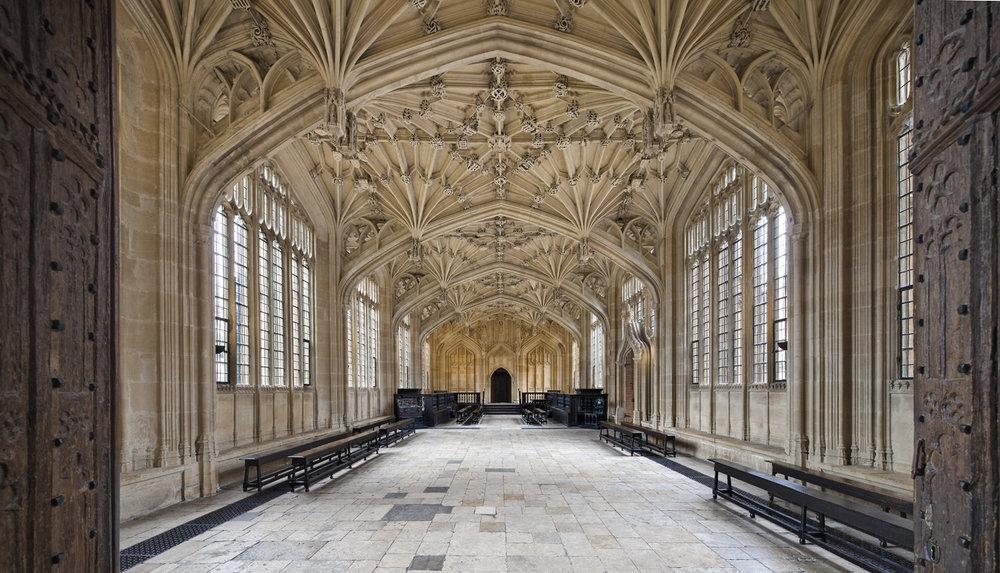 Divinity School, Bodleian Libraries, Oxford, UK