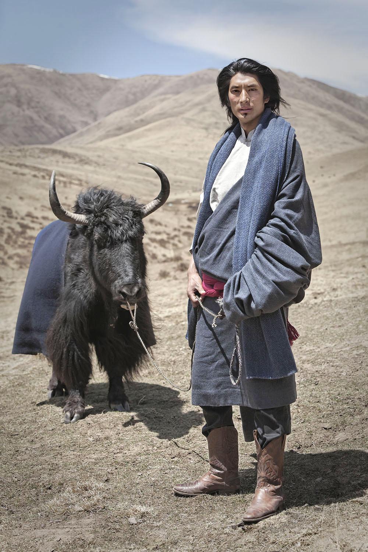 Wangdi and Yak, Norlha Textiles, Amdo, Tibet/China