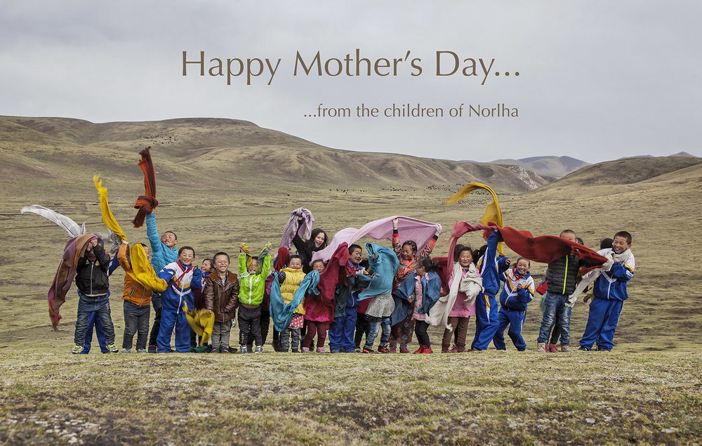 Happy Mother's Day from the Norlha kids! Norlha atelier, Ritoma, Amdo, Tibet