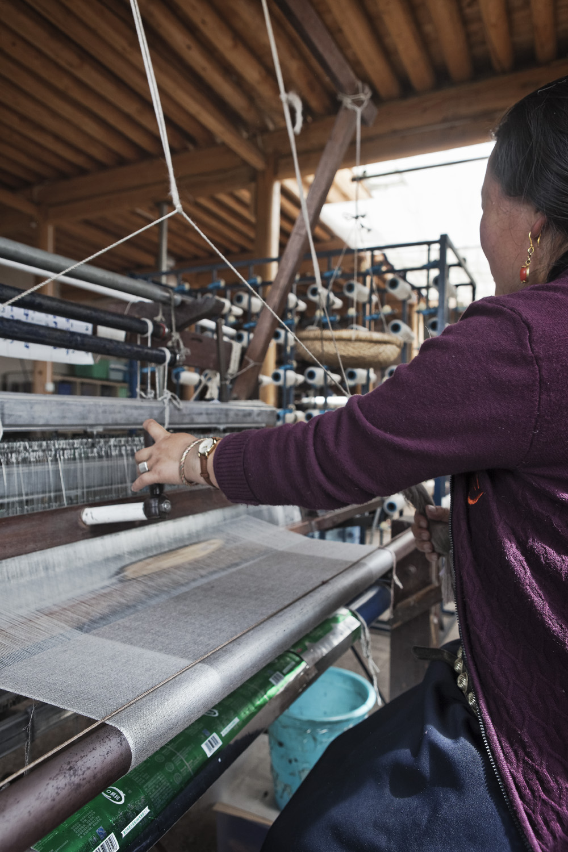 Production in the Norlha atelier, Ritoma, Amdo, Tibet