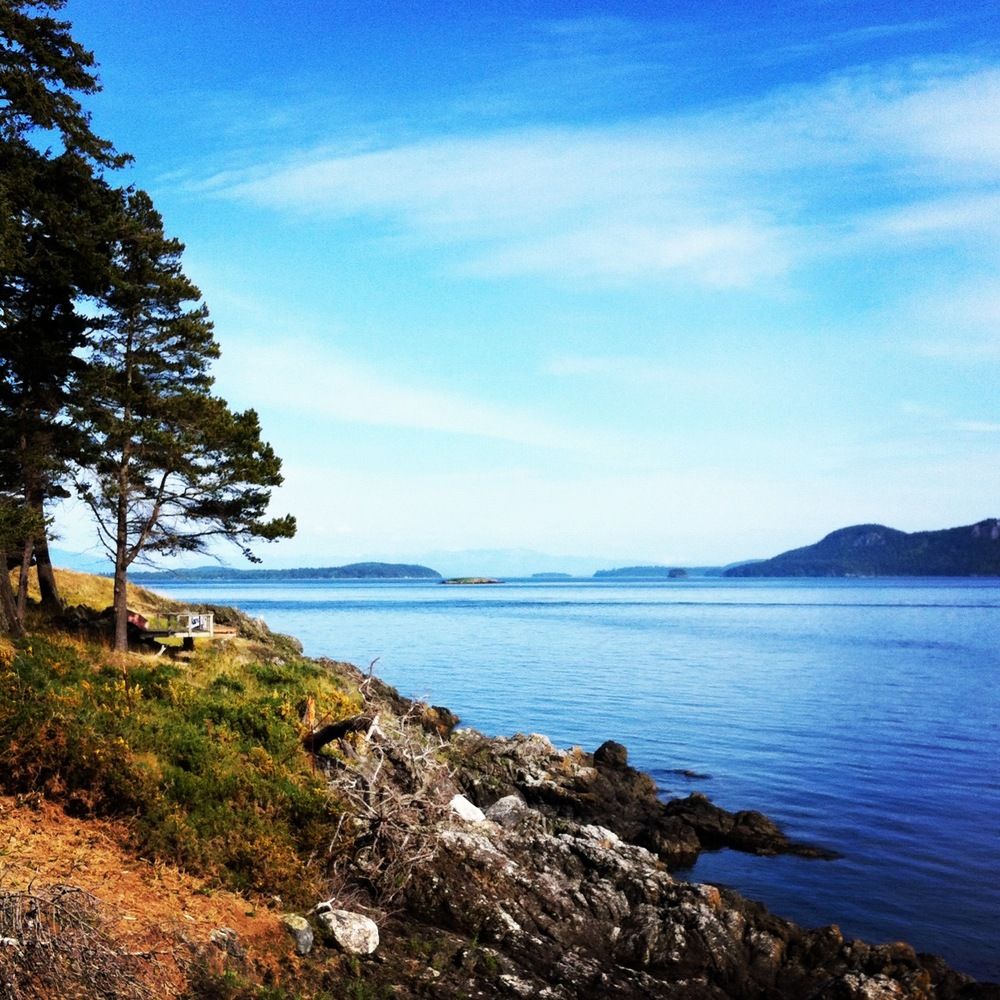 Plan your trip to Doe Bay — lady in shred.