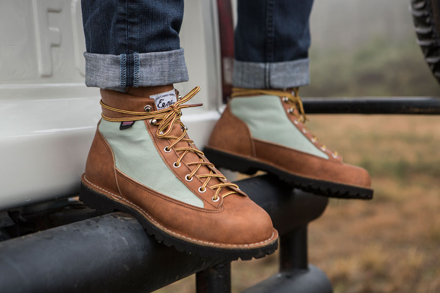 Women's Danner x Beckel Boots are Now Available — lady in shred.