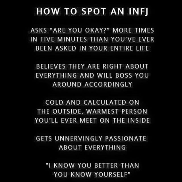 Once I thought I was becoming an *E*NFJ, but nope. #nosmalltalkplease #infj