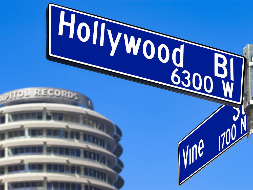 Hollywood & Vine Sign.jpg