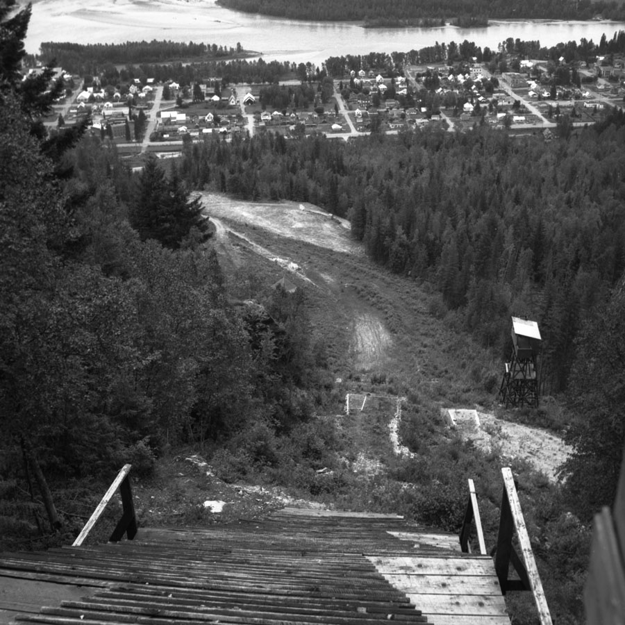Revelstoke Ski Hill, 1957 [DN-916]