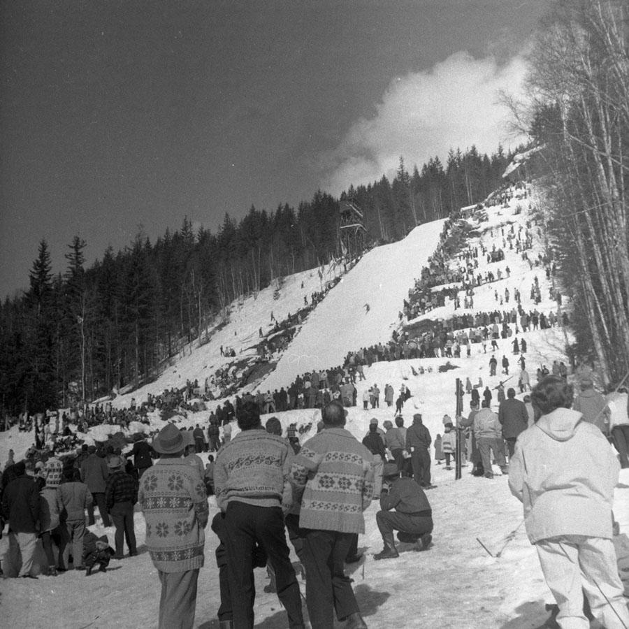 Ski Jump, 1958 [DN-917]