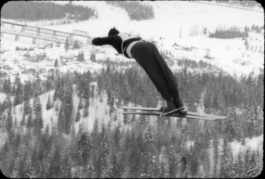 Jumper on Nels Nelson Ski Hill [DC1-51]