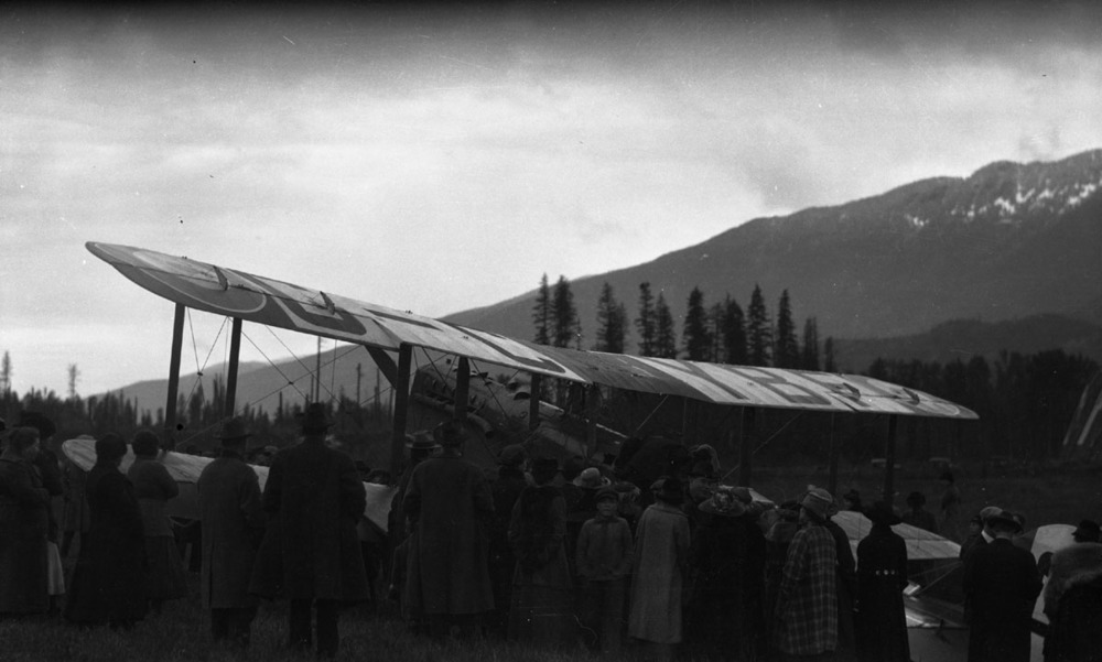 First Transcontinental Flight, 1920 [DN-982]