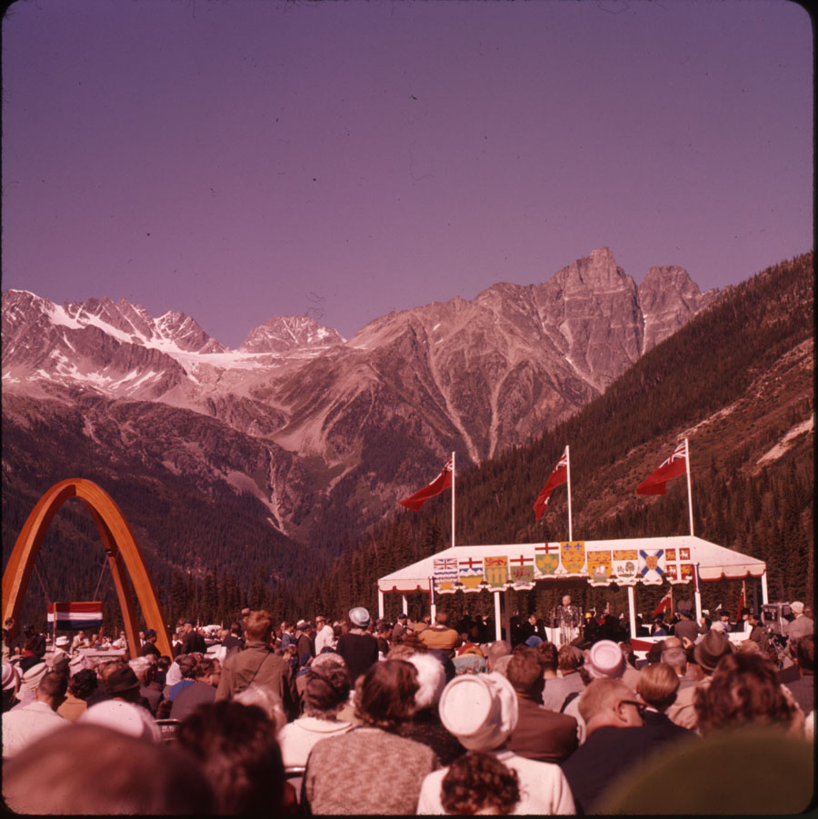 Trans-Canada Highway Ceremony [DC2-106]