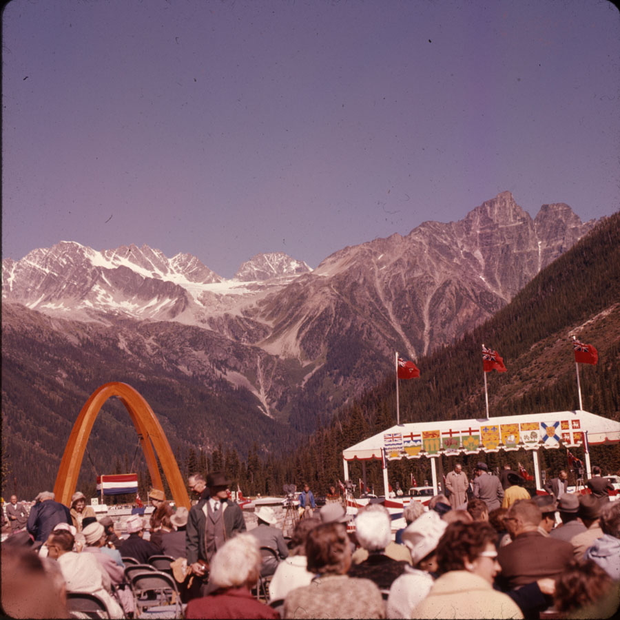 Rogers Pass Unveiling Ceremony [DC2-138]