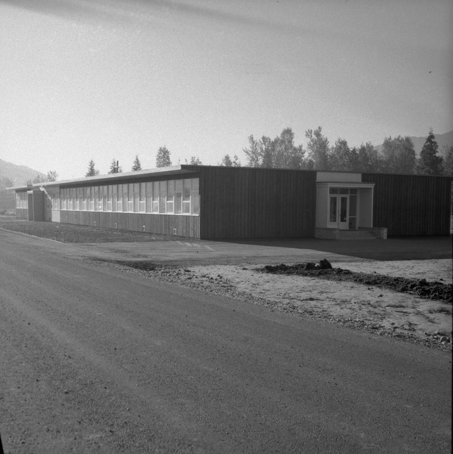 New School Building, 1955 [DN-238]