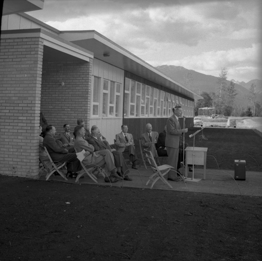 Opening Revelstoke Secondary School [DN-253]