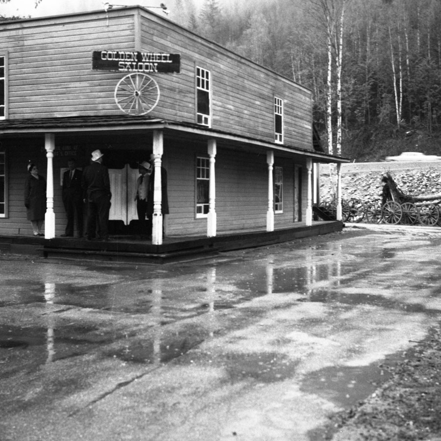 Three Valley Gap Saloon, 1967 [DN-941]