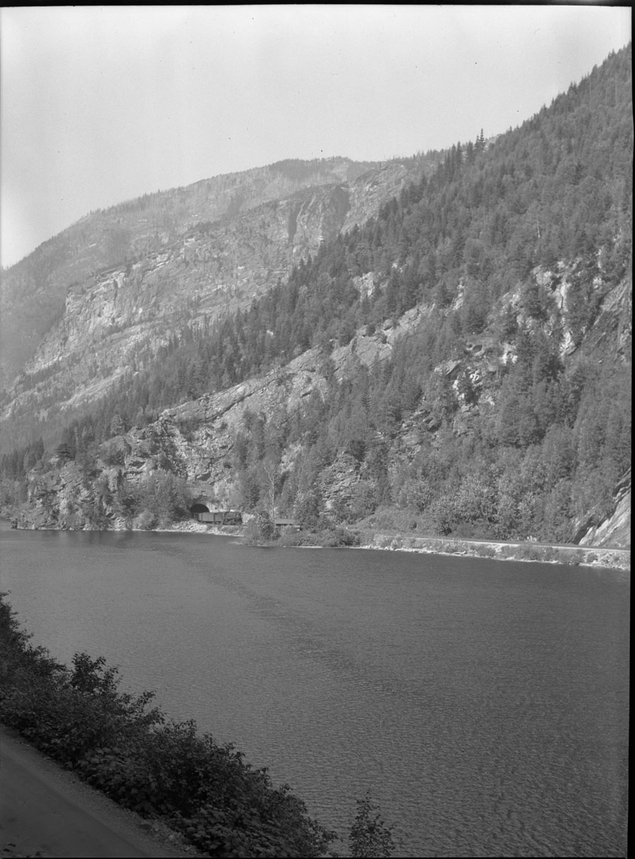 Train Summit Lake and Section House [DN-70]