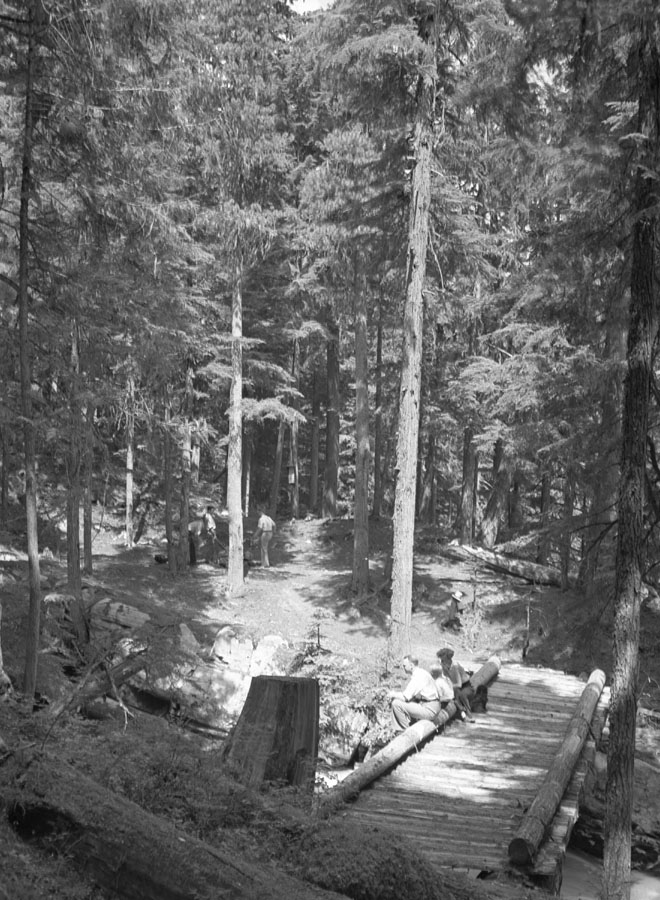 Begbie Park Falls, 1937 [DN-795]
