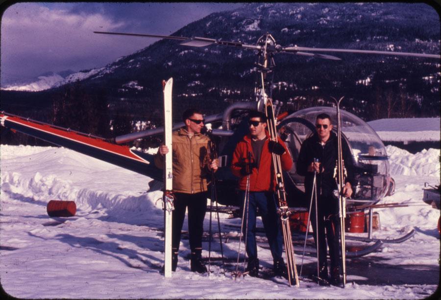 Heli-Skiing in Revelstoke [DC1-72]