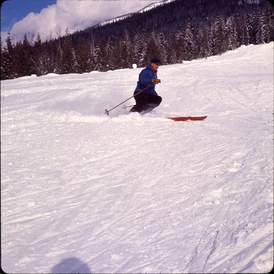 Skiing on Mt. Mackenzie [DC2-35]