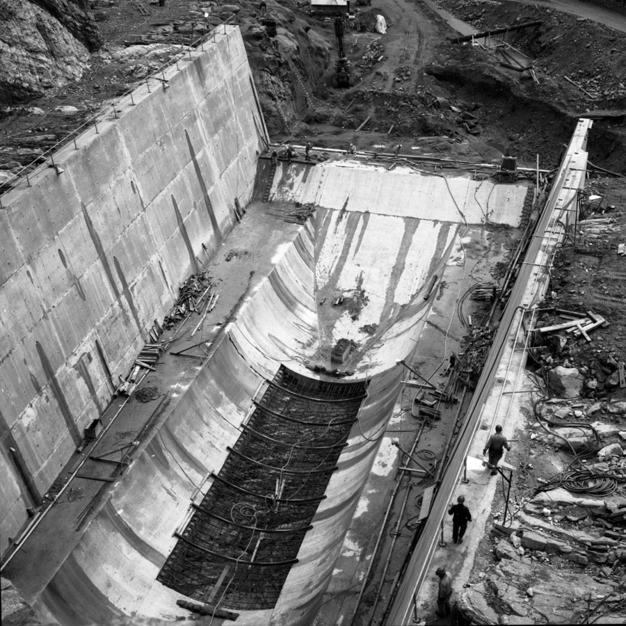 Mica Dam During Construction [DN-495]