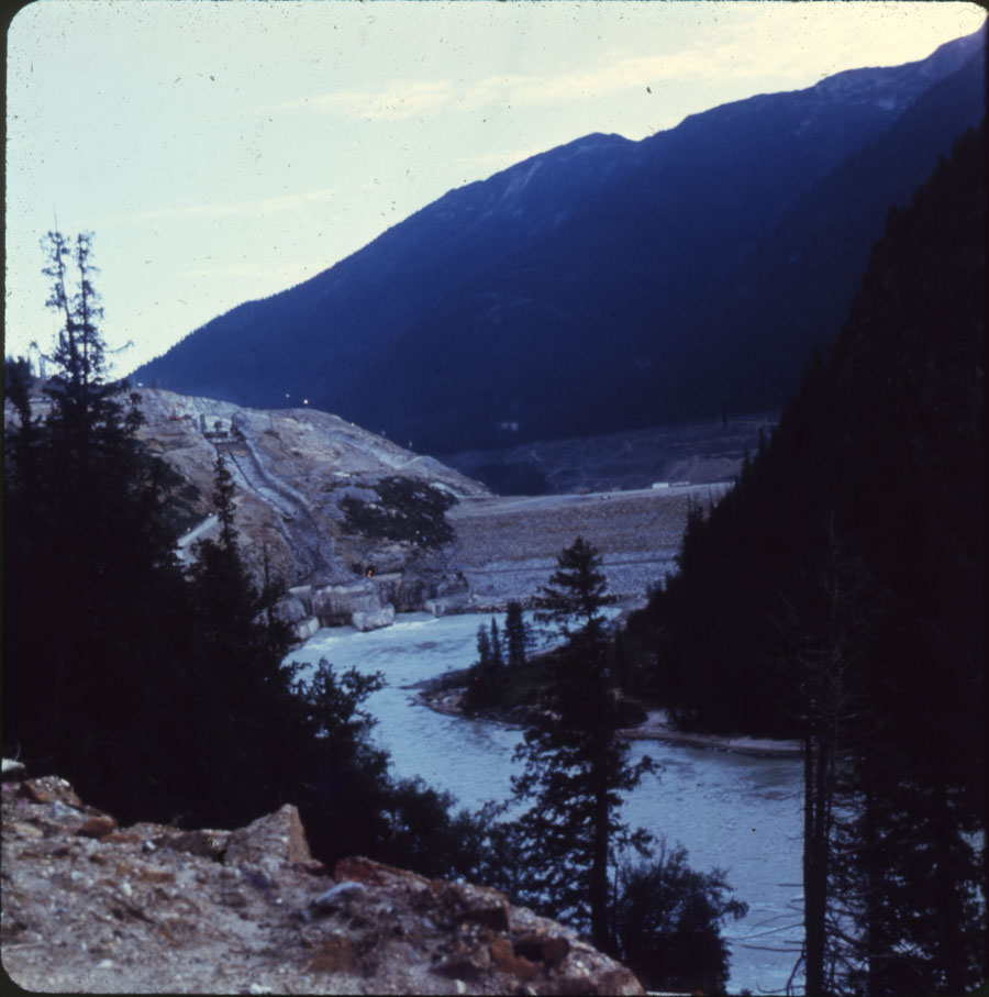 Mica Dam Construction 1970 [DC1-83]