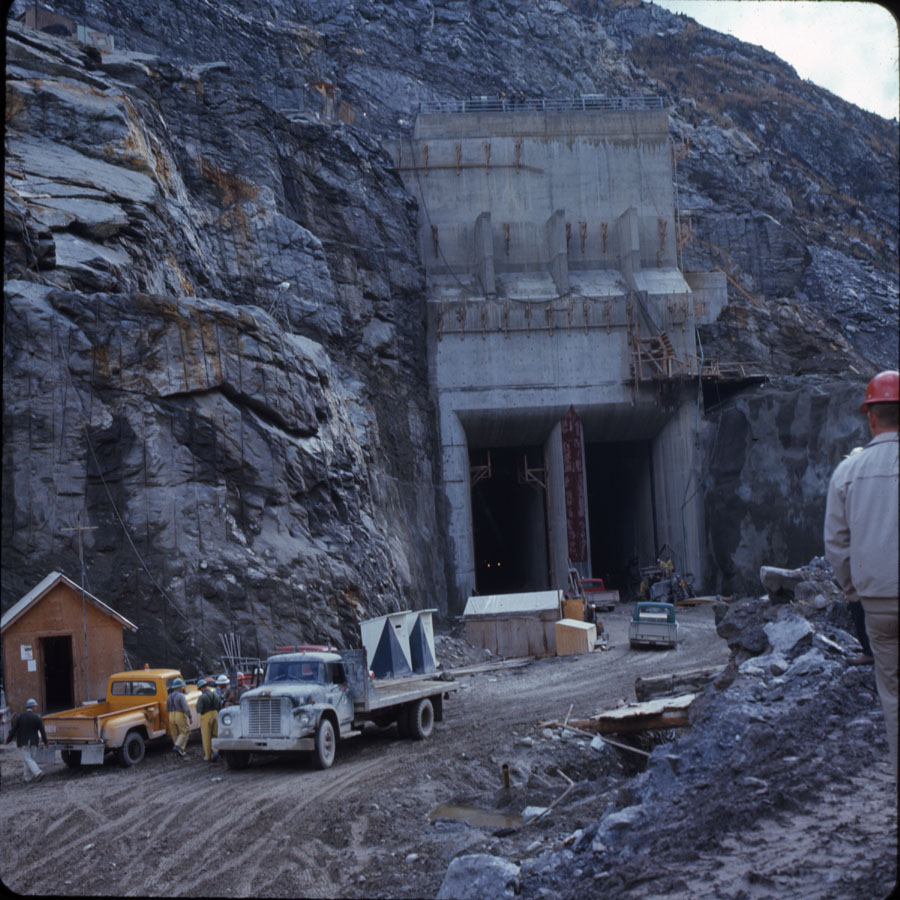 Mica Dam Construction, 1968 [DC2-54]