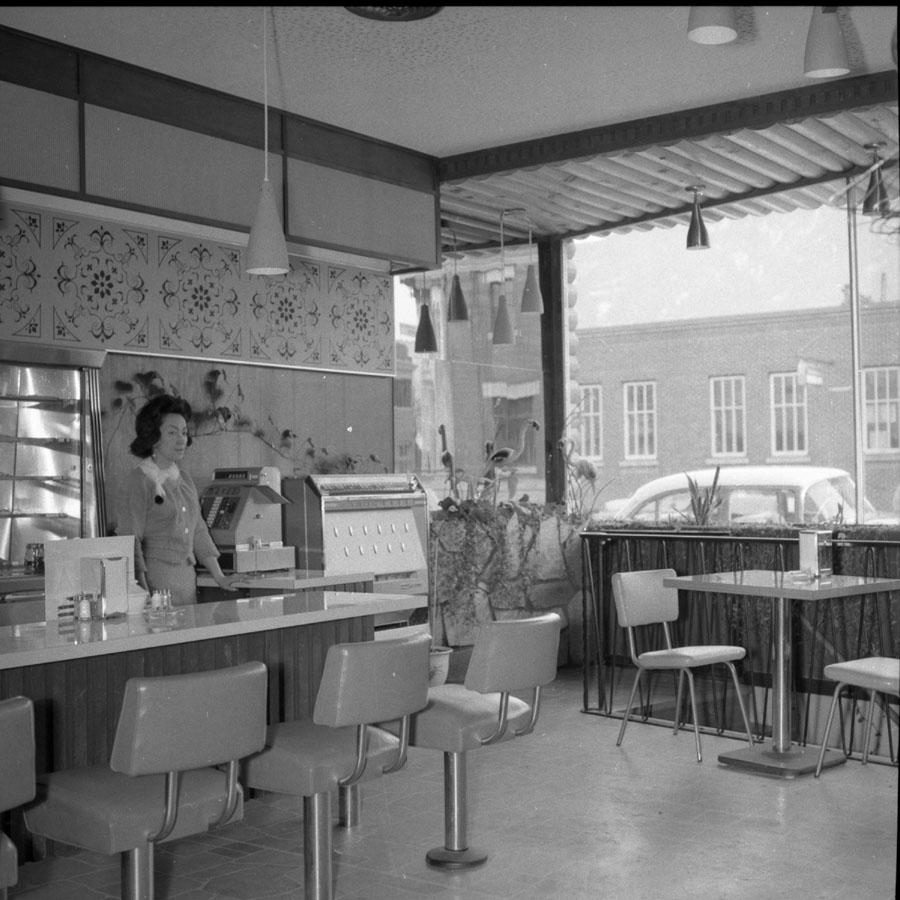 Chalet Restaurant Interior [DN-579]