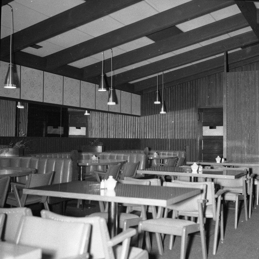Chalet Restaurant Interior [DN-580]