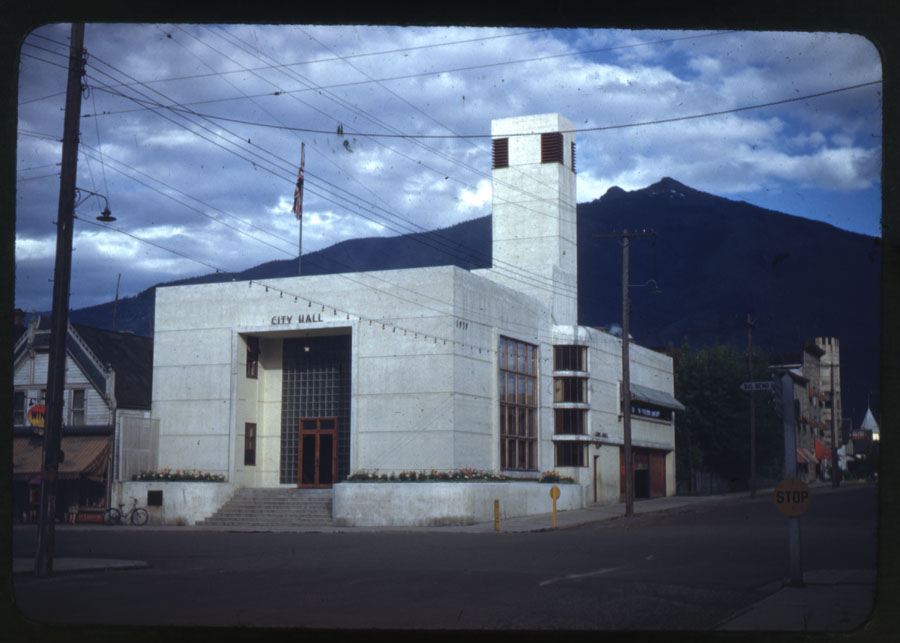 Revelstoke City Hall, 1940s [DC1-3]