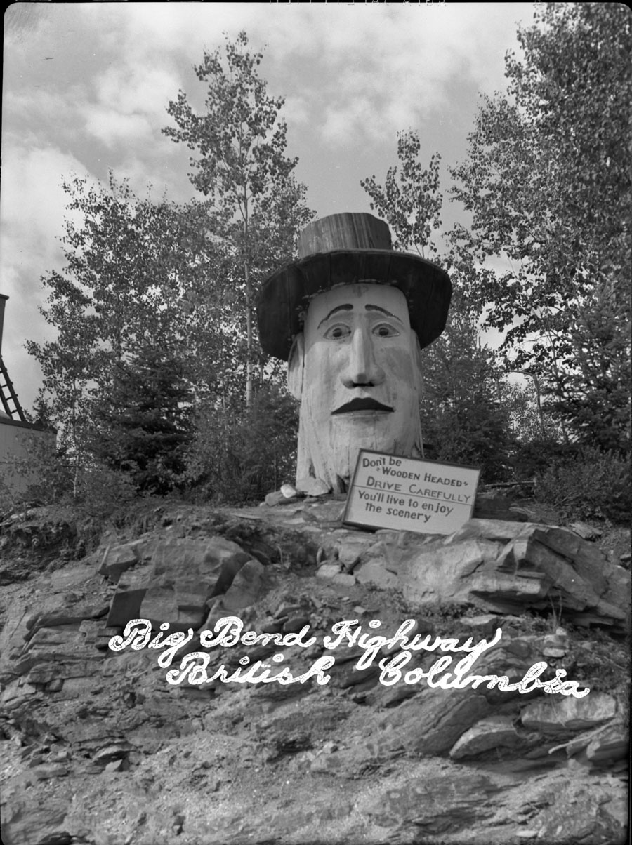 Wooden Head Monument [DN-163]