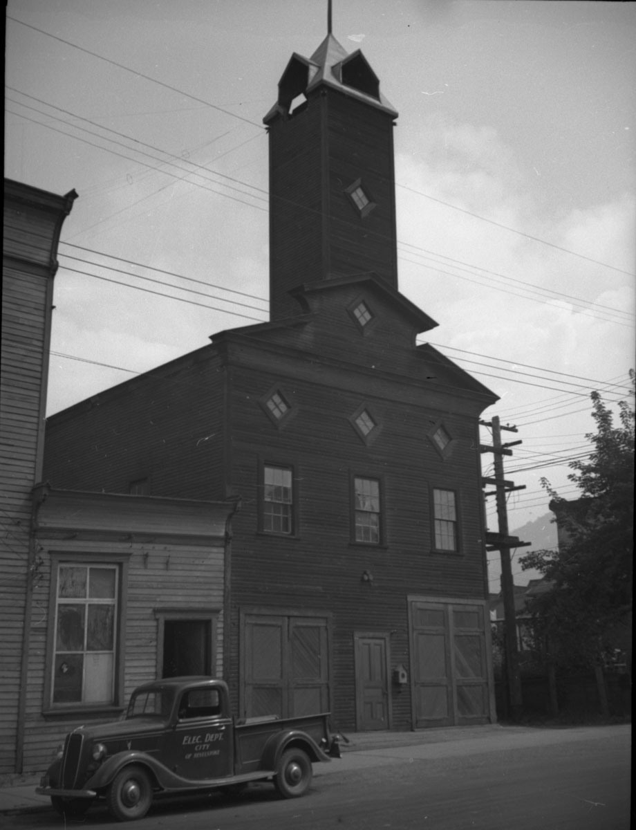 Fire Hall, 1938 [DN-379]