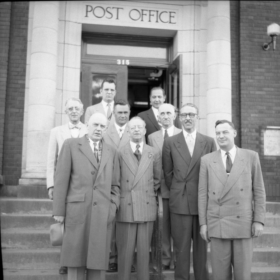 Mayor Harman & Council, Post Office [DN-688]