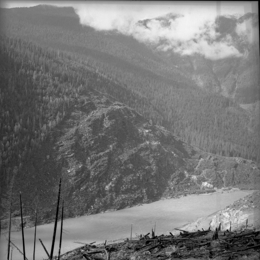Columbia River above Mica Dam Construction [DN-493]