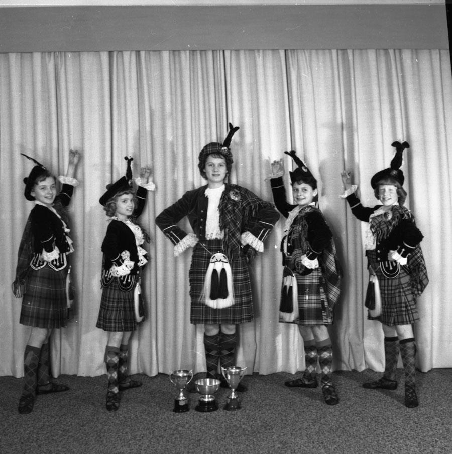 Highland Dancers, 1961 [DN-231]