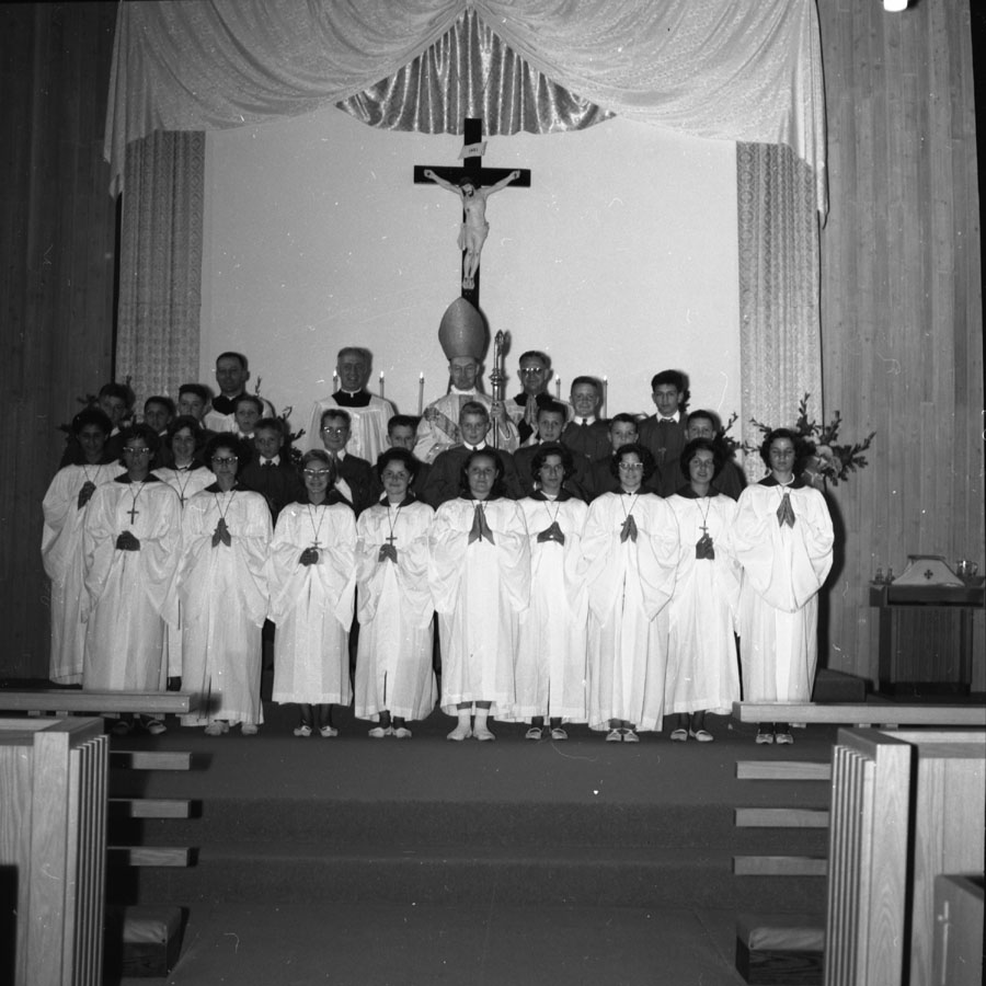 Confirmation in New Catholic Church, 1964 [DN-868]