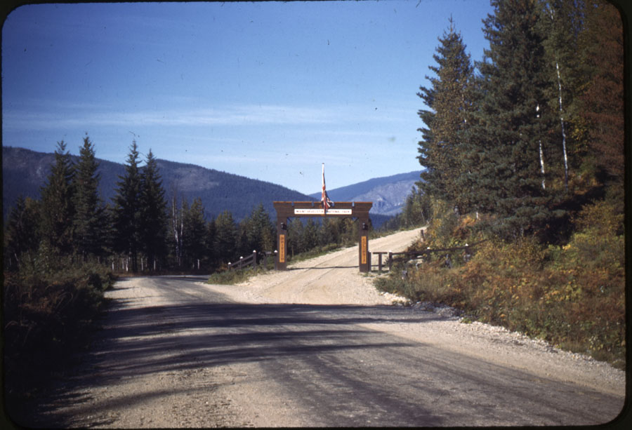 Gate to Mt. Revelstoke Motor Road [DC1-52]