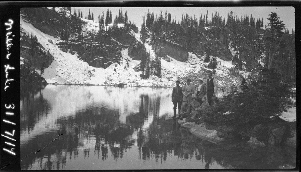 Group at Miller Lake [DN-2]