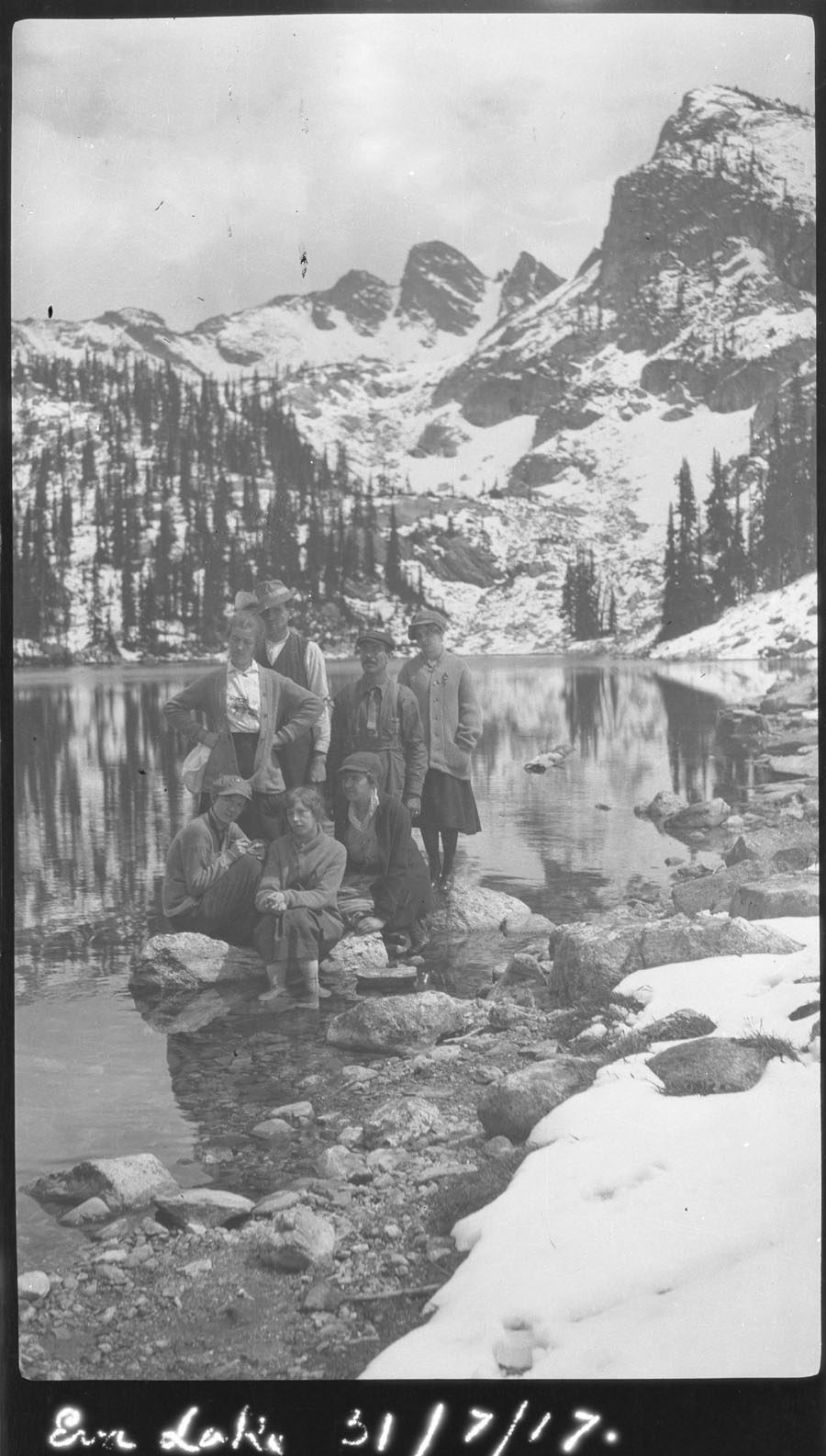 Group at Eva Lake [DN-6]