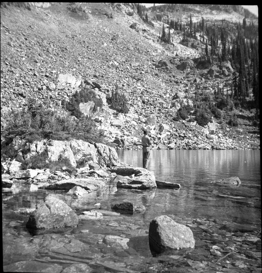 Fishing at Miller Lake [DN-35]