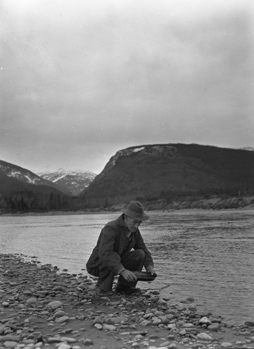 Gus Hedstrom, Miner, 1940 [DN-854]