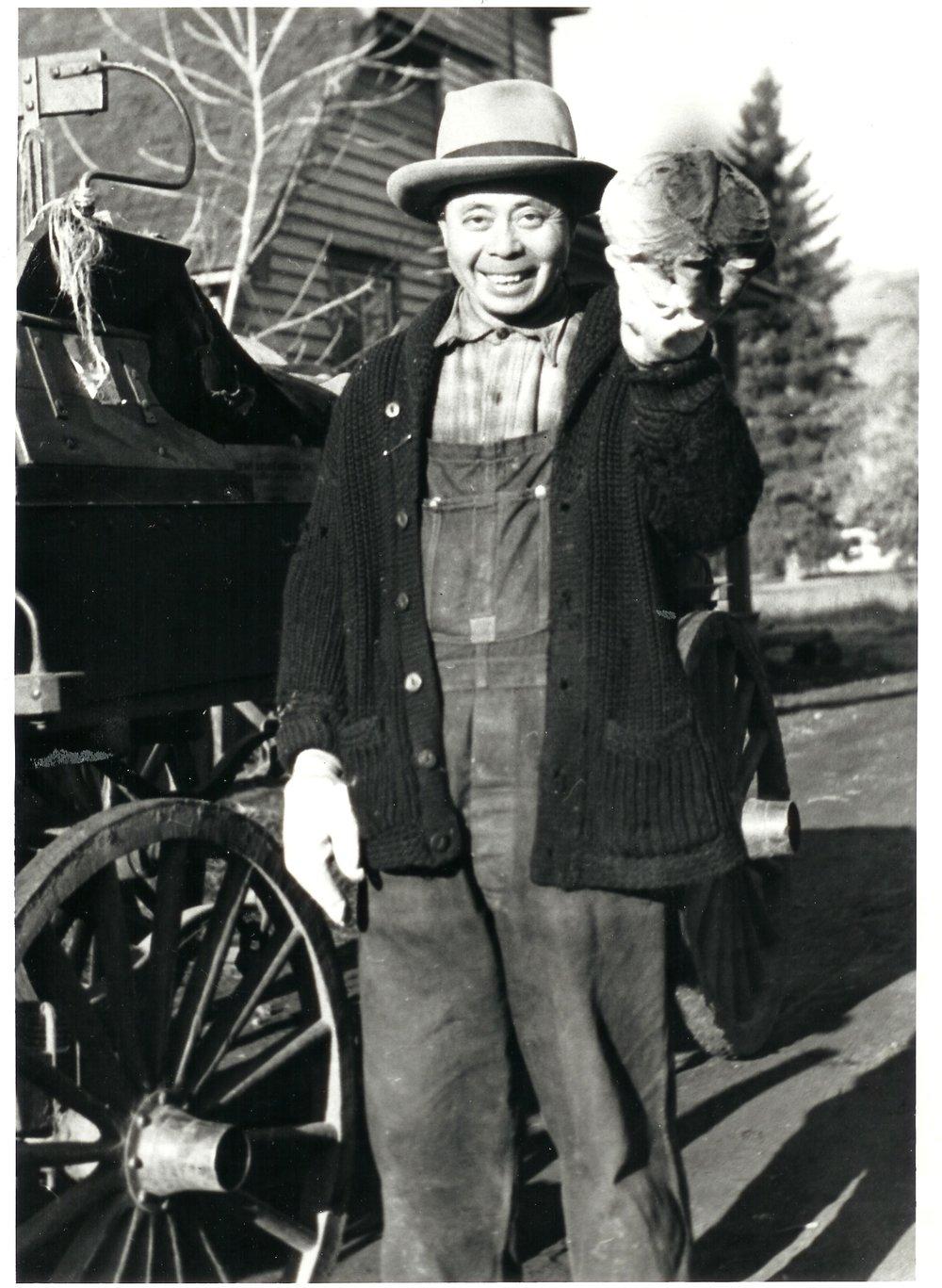 Charlie Sing, 1942.