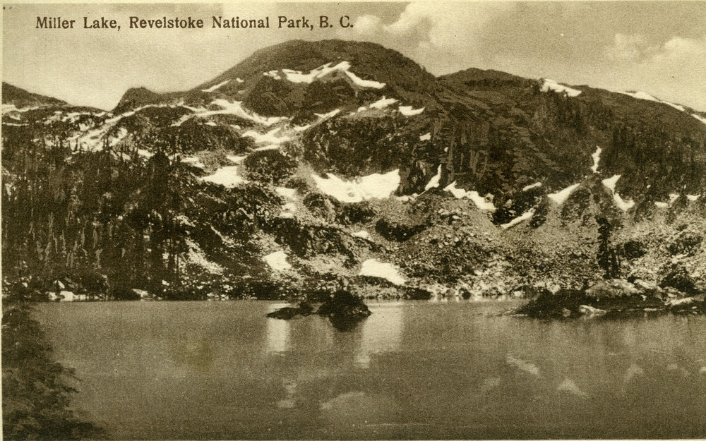 Miller Lake, Revelstoke National Park, c.1915