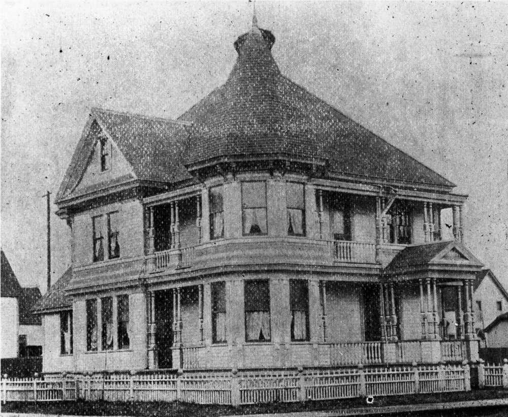 McCarty home on Third & Mackenzie Streets.