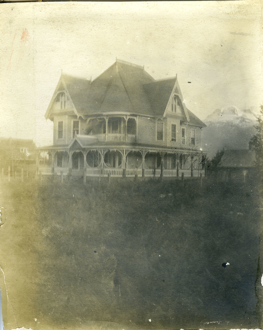 The Holten home, 1221 Front Street, Revelstoke.