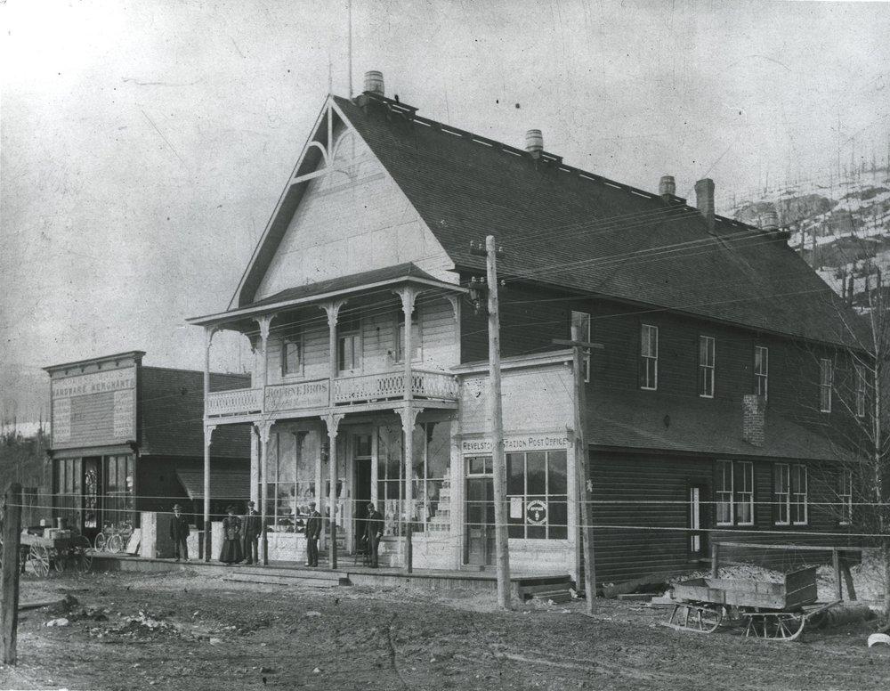 Bourne Bros. Store, 1890s.