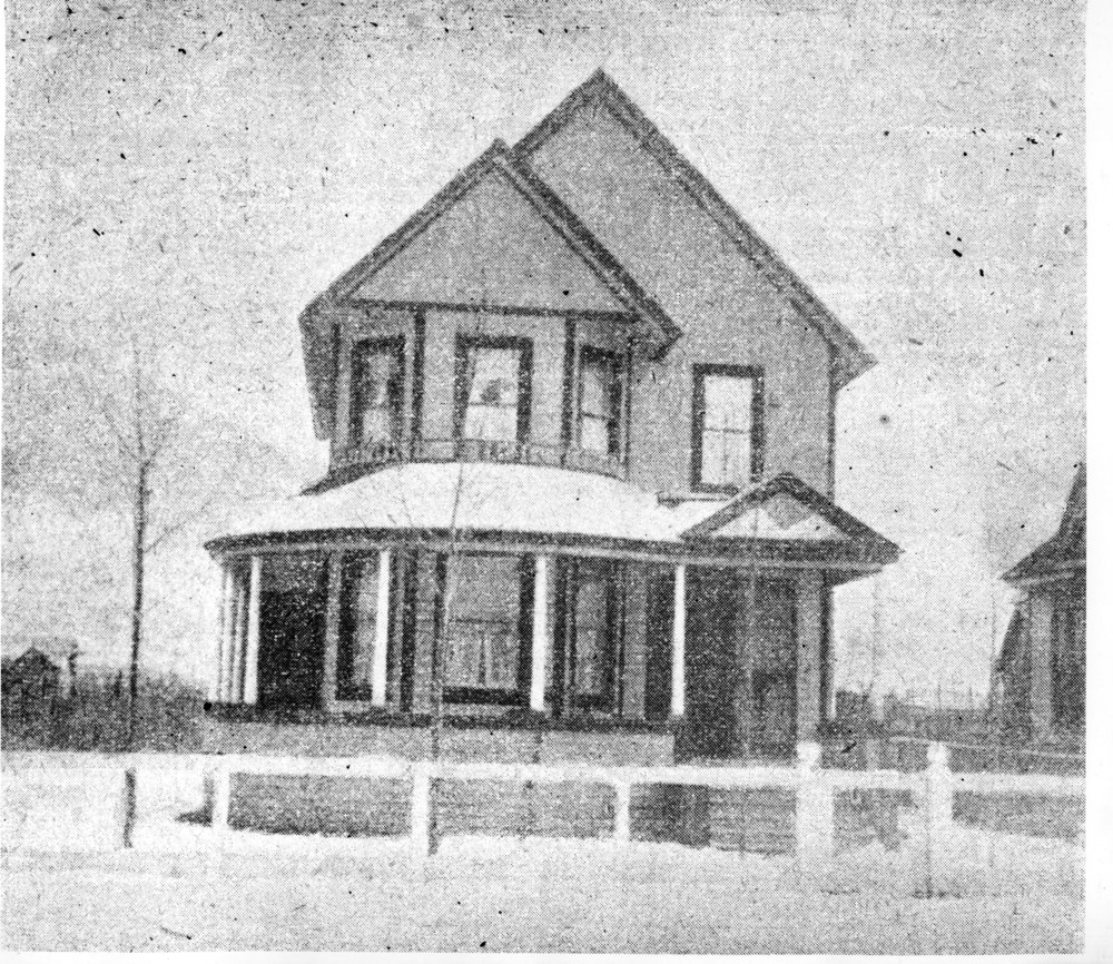 Bourne family home, Sixth Street East.