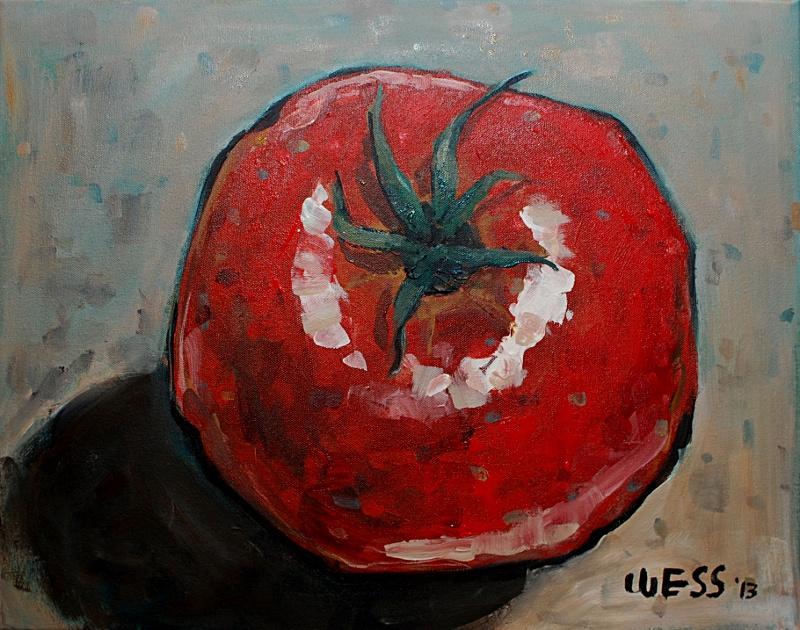 """Creole Tomato, 16x20"""", $250"""